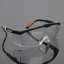 Gafas protectoras de seguridad antipolvo, transpirables, PM008, Unisex