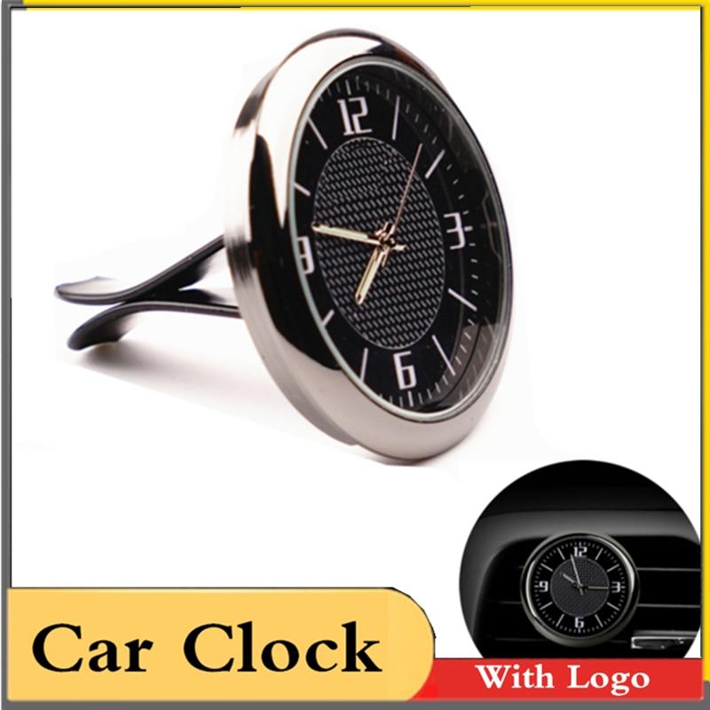 For BMW Car Clock Refit Interior Luminous Electronic Quartz Watch Ornaments Dashboard Time Display Clock In Car Accessories