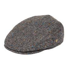 VOBOOM-casquette Ivy, chapeaux plats à chevrons, 50% en laine Tweed, Bunnet, Paddy Dai, chapeaux de conduite, 200