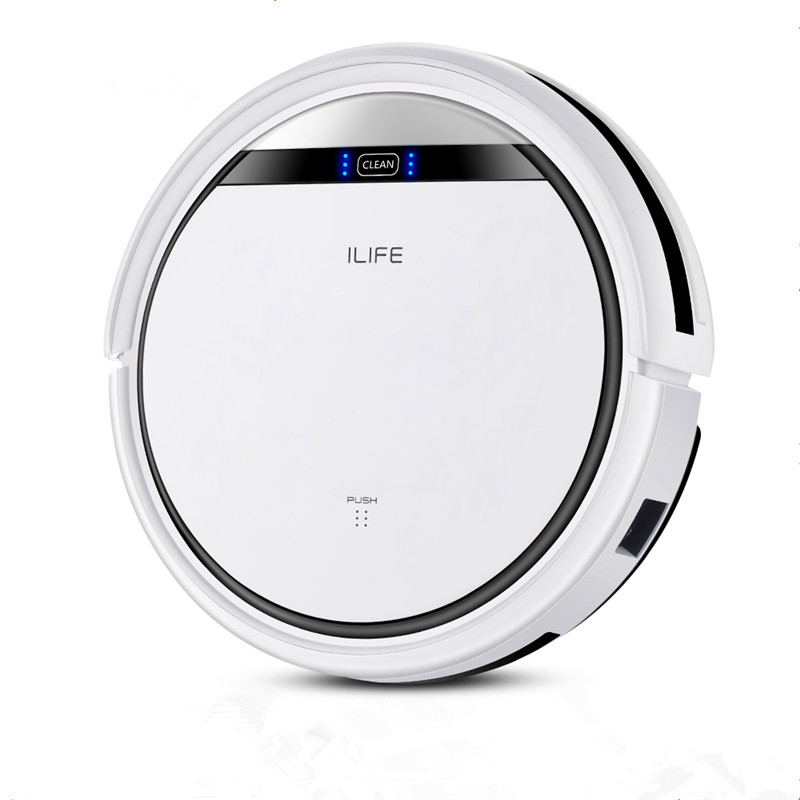 ILIFE V3s Pro Robot Vacuum Cleaner Home Household Professional Sweeping Machine for Pet hair Anti Collision Automatic Recharge 1