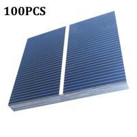 50/100Pcs 52*52mm 0 5 V 0 43 W Solar Panel DIY Solar Zelle Batterie Ladegerät DIY solar Batterie Ladegerät Painel Solar-in Batteriezubehörteile und Ladezubehör aus Verbraucherelektronik bei