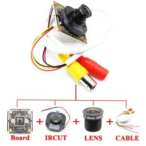 Image 4 - Low illumination AHD Camera Module Board PCB SONY IMX323 2000tvl AHDH 1080P IRCut NightVision M12 Lens CCTV Security