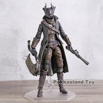 Bloodborne Figma 367 Hunter PVC Action Figure Collectible Model Toy 1