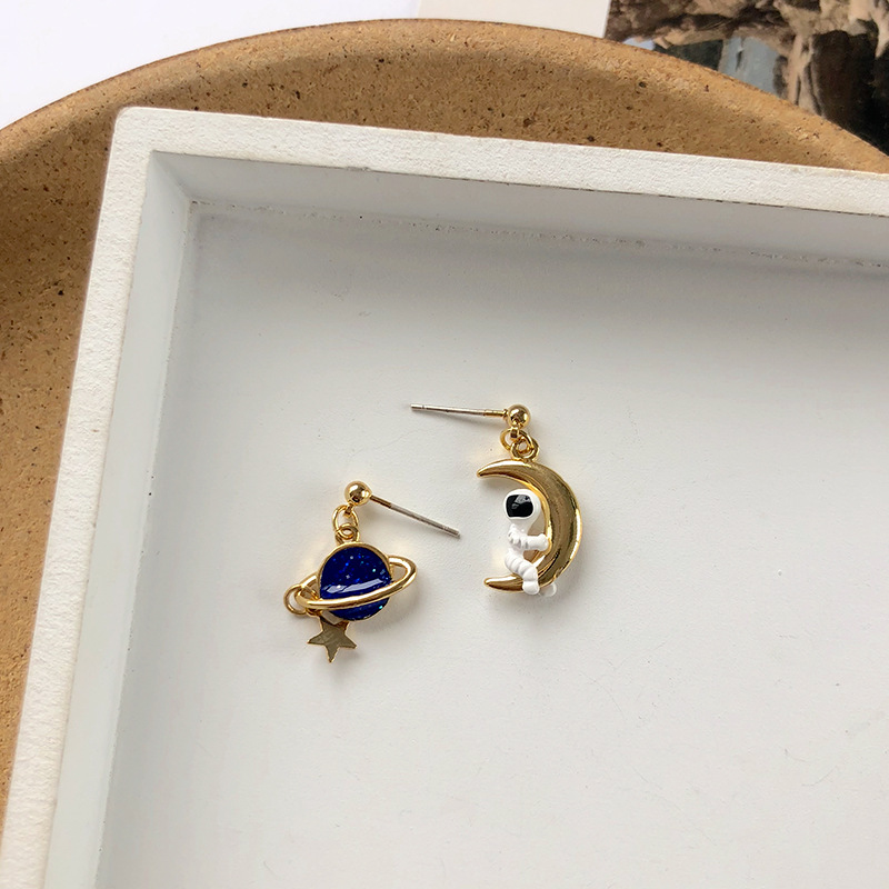 S925 Needle Korean Style Long Earrings Square Resin Irregular Oval Drop Earrings Women Jewelry Gifts For Female Girl Hot Selling