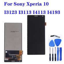 цена на Original For Sony Xperia 10 I3123 I3113 I4113 I4193 LCD touch screen digitizer Assembly for Sony Xperia 10 display repair parts