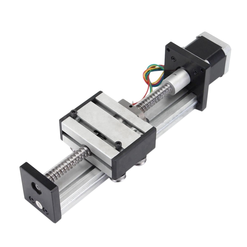 Ball Screw Linear CNC Z Axis Slide Stroke Stage Actuator Stepper Motor Kit