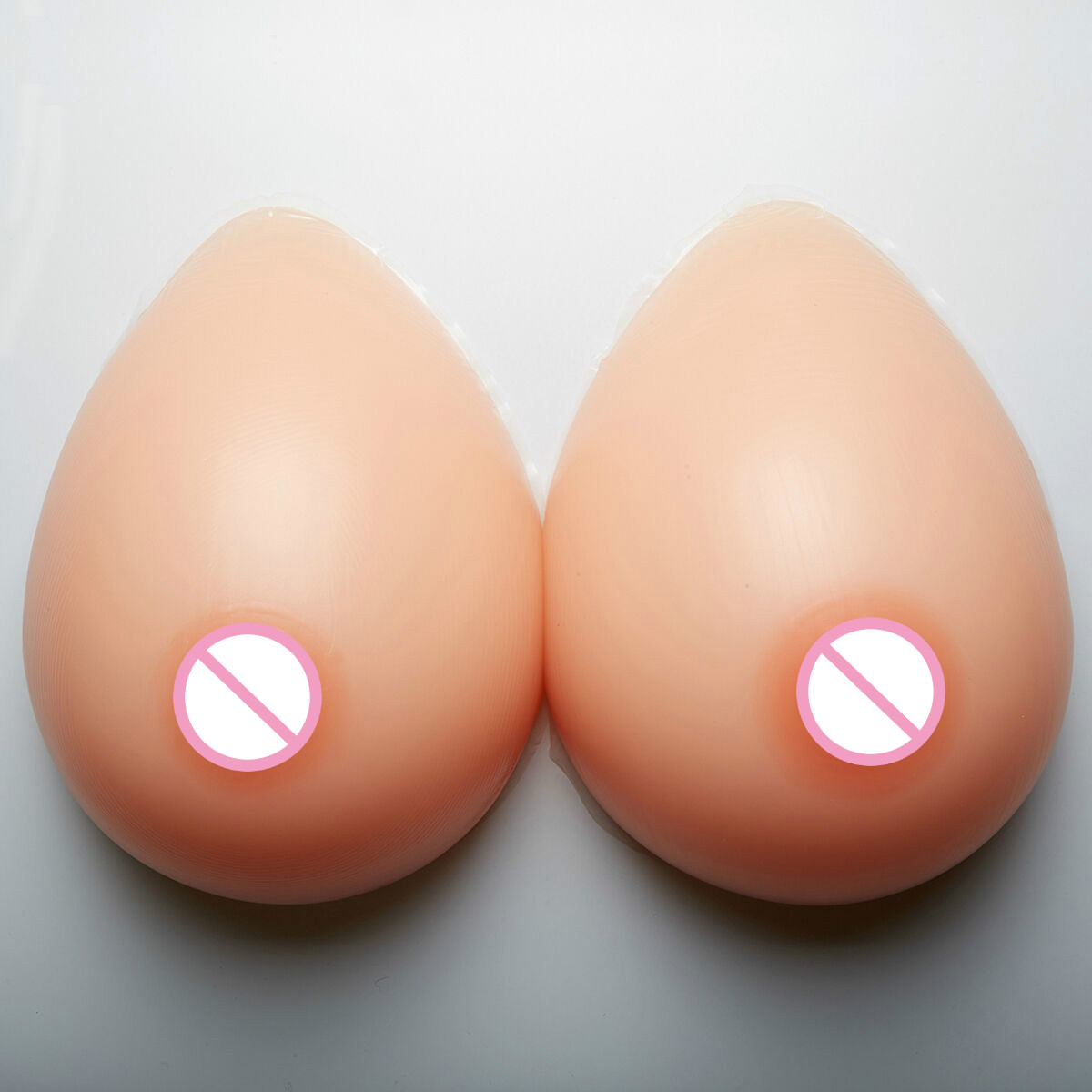 2019 New 1600g Soft Silicone Breast Forms Prosthesis EE Cup Mastectomy Boobs Enhancer Crossdresser Transgender Women
