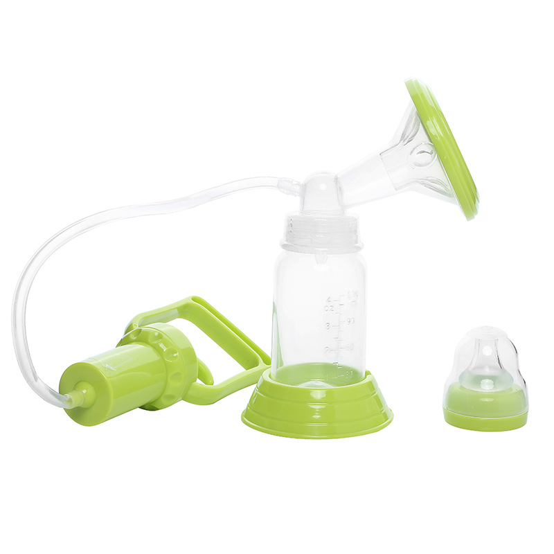 Hand Pull Breast Pump Manual Suction Large Maternal Breast Milk Supplies Pumping Squeeze Painless Breast Pump