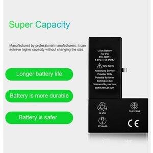 Image 2 - Pinzheng Hoge Capaciteit Telefoon Batterij Voor Iphone X Xr Xs Max Replacment Bateria Voor Iphone X Xr Xs Max Batterij met Gereedschap