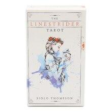 Tarot-Cards-Deck Minimalist Enhance-Your-Readings Powerful Linestrider The 78PCS Thompson's