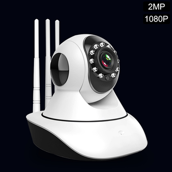 Home Security IP Camera Wifi 2MP 1080P Surveillance Camera PTZ IR Night Vision Two Way Audio SD Card Mini Wireless CCTV Camera 1080p 2mp wireless indoor wifi surveillance camera two way audio cctv security ip camera home dome baby monitor support sd card