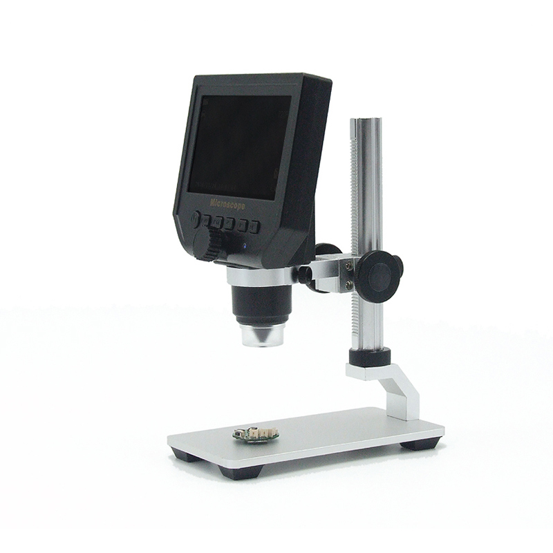 Digital HD Microscopes 3.6 Mega Pixels 1-600X Magnification 4.3 Inch LCD Screen UND Sale image