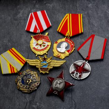 Najwyższa jakość różne rodzaje dekoracji zsrr CCCP Order lenina Order chwały Medal za odwagę Medal za zasługi bojowe tanie i dobre opinie Patriotyzmu Nowoczesne RUSSIA Metal