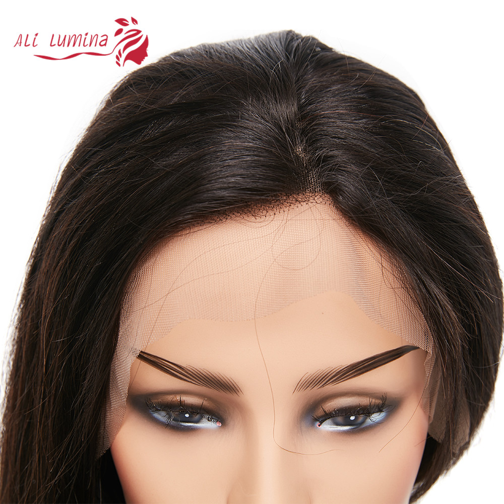 13x4 Lace Front  Wigs  Straight Lace Wigs Pre Plucked 4x4 Lace Closure Wigs With Baby Hair 3