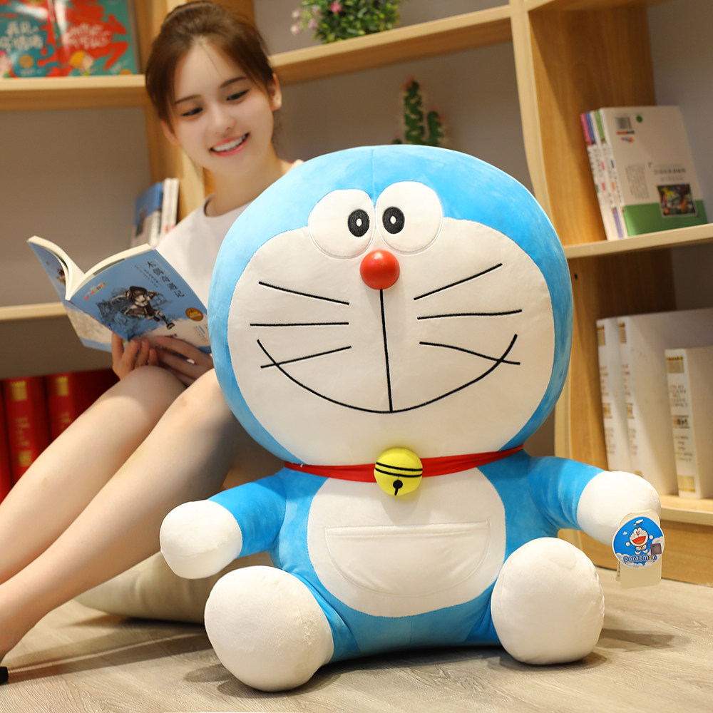 23-48cm Hot Anime Stand By Me Doraemon Plush Toy High Quality Cute Cat Doll Soft Stuffed Animal Pillow For Baby Kids Girls Gifts