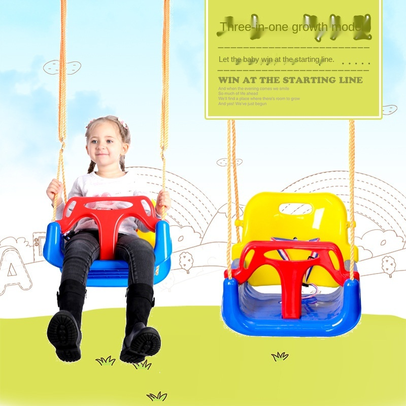Plastic Baby Toddler Toys Children's Swing Seat Indoor and Outdoor Household Multiuctional Hanging Chair Swing For Kids LB372