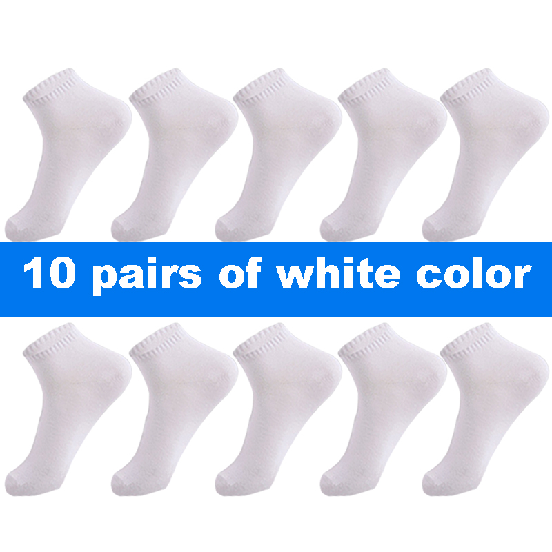 10 pairs white