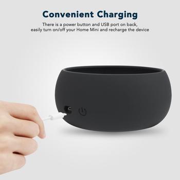 Kiwi Projeta A Base Recarregável 7800 Mah Da Bateria Para A Casa Do Google Mini, Carregador De Energia Portátil Da Casa Do Google Mini