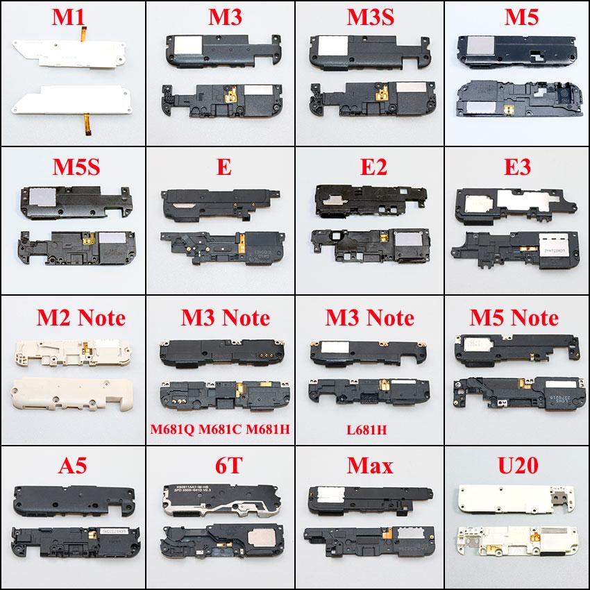 ChengHaoRan Loudspeaker For Meizu M1 M3 M3S M5 M5S E E2 E3 M2 M3 M5 Note L681H A5 Max U20 Loud Speaker Buzzer Ringer Replacement