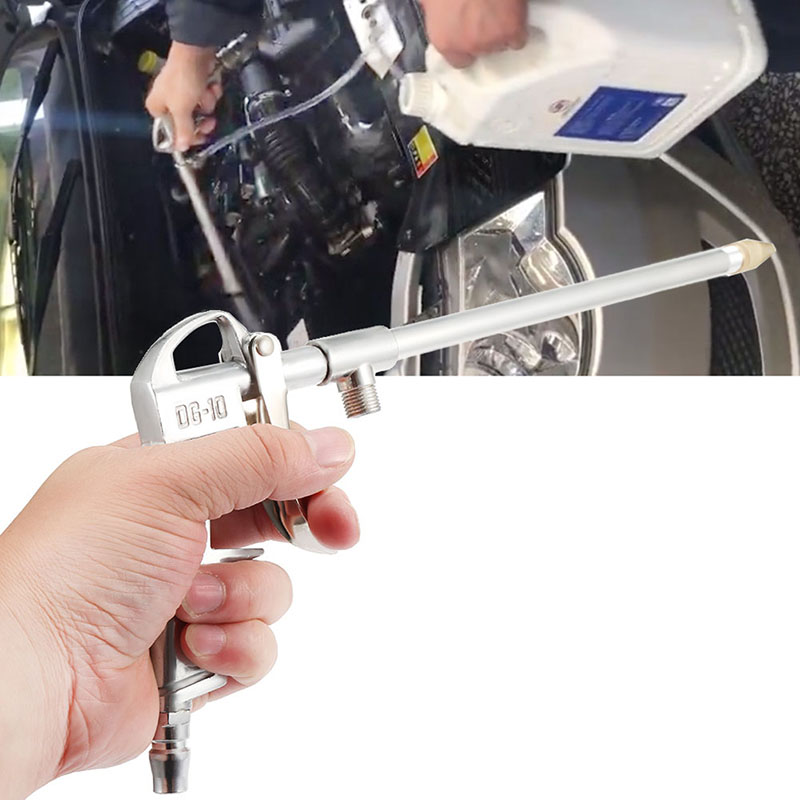 New Air Duster Gun Compressed Air Compressor Pneumatic Aluminum Alloy Cleaning Gun Air Blow Powerful Blowing Dust Blower Tool