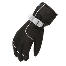 Snowboard Gloves Skiing Warm Outdoor Waterproof Full-Finger Children