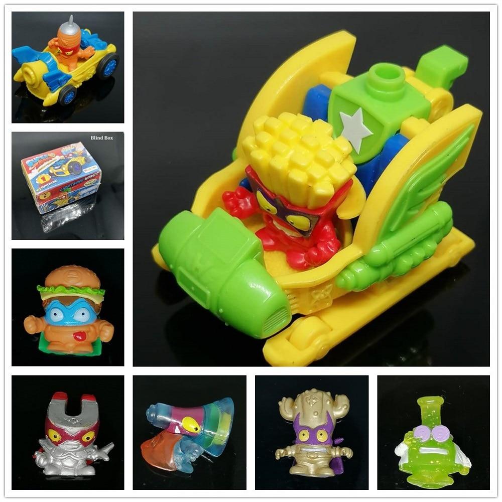 1pcs Original Superzings Ultra Rare Professor Gold Kactor Silver Action Figures 3CM Super Zings Collection Toys For Kids Gift