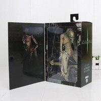 24cm NECA Aliens Vs Predator Figure toy Alien Resurrection Delune Newborn Ver. PVC Action Figure Model Horror Toys Doll Gift