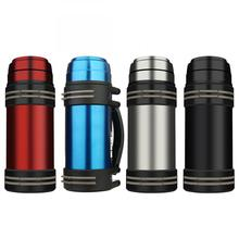Stainless Steel Vacuum Flasks Thermoses Large Capacity Outdoor Travel Thermo Bottle Thermal Coffee Cup