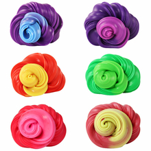 New Creative Slime Anti-stress Putty Playdough Polymer Clay Non-Magnetic Plasticine Temperature Change Color Mud Toys Gift creative toys magnetic plasticine