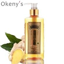 Genuine Professional Hair Ginger Shampoo 300ml, Hair Regrowth Dense Fast, Thicker, Hair Growth Shampoo Anti Hair Loss Product
