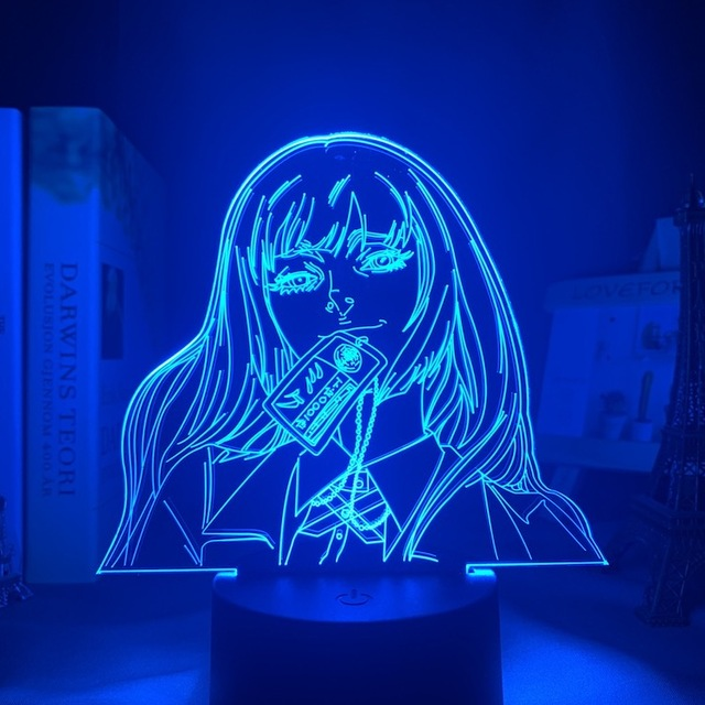 Yumeko Jabami Led Anime Lamp (Kakegurui)