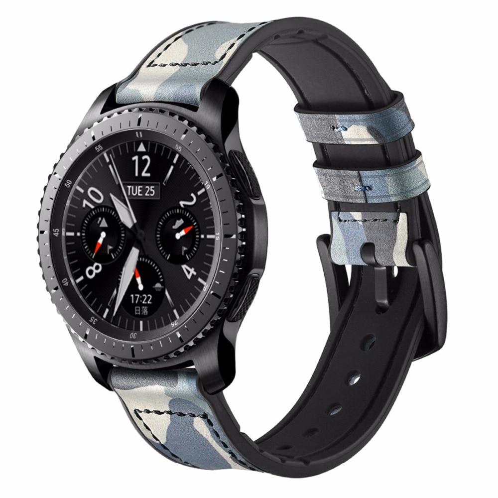 s3 clássico frontier camuflagem moda pulseiras substituição cinto pulseira acessórios