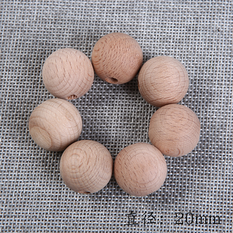 Elm Ball Beads Handmade Baby Molar Beads DIY Jewelry Accessories Beaded Material