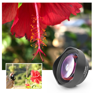 Image 3 - Ulanzi 75mm Macro Lens HD No Distortion DSLR Effect Clip on for iPhone 11 Samsung Huawei Xiaomi Phone Camera Lens 17mm Thread