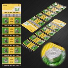 10PCS Cell-münze Alkaline Batterie AG3 1 55 V Taste BatteriesSR41 192 L736 384SR41SW CX41 LR41 392 Kette Finger Licht uhr Spielzeug cheap NONE Batterie Zubehör CN (Herkunft)