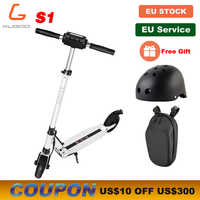 [Tienda oficial] KUGOO S1 Scooter Eléctrico plegable para adultos 350W 30KM 30 KM/H monopatín eléctrico e Scooter m365 PK Ninebot