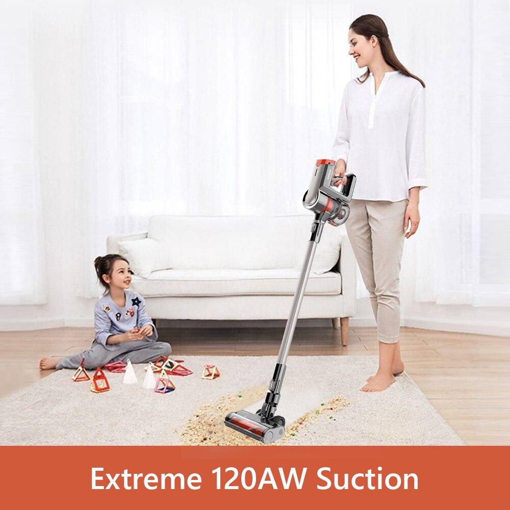 Womow Cordless Vacuum Cleaner 25kpa Power Suction Aspiradora Stick Handheld Wireless Vacuum Cleaner W20 Vs Ilife For Home Car 2