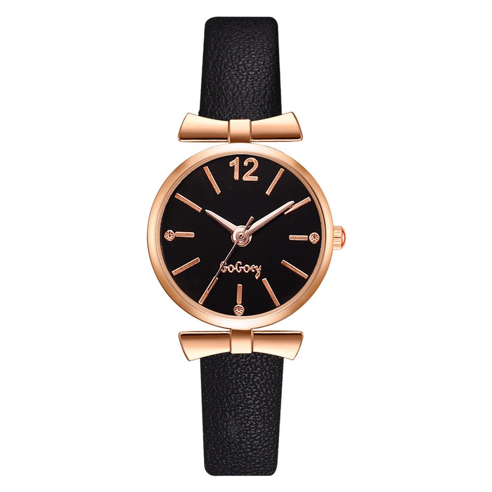 Luxury Ladies Bracelet Watch Small Dial Mini Women Fashion Quartz Watches Elegant Bow-Knot Female Wristwatches Leather Clock