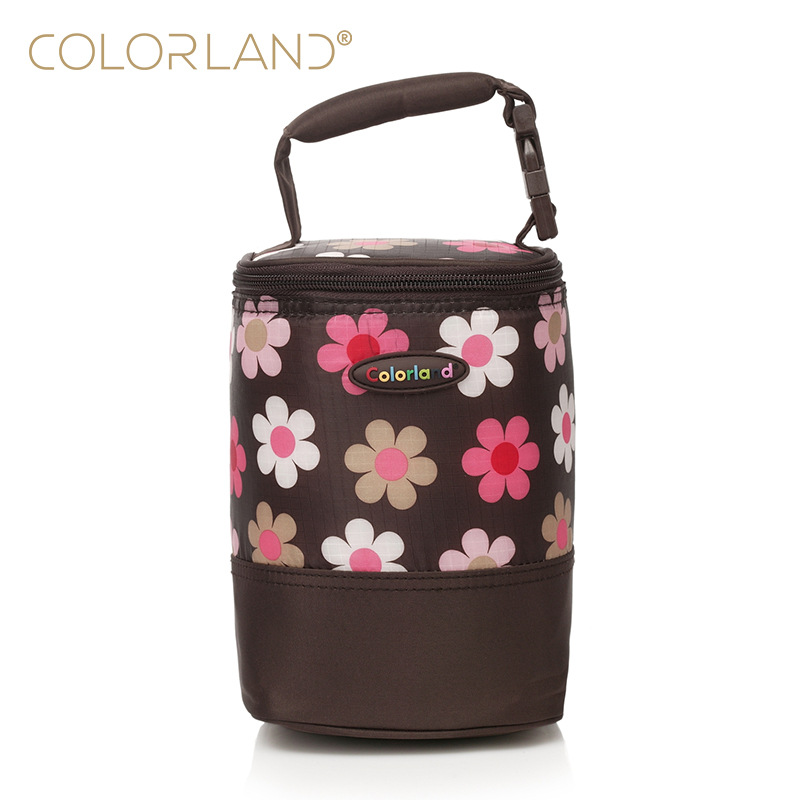 Colorland BABY'S Feeding Bottle Insulated Bag Baby Container Insulated Bag Portable Baby Cup Insulated Bag