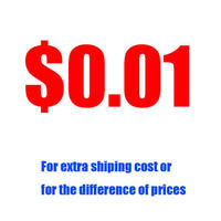 Extra Fee For Refund / Extra Shipping Cost Or For The Difference Of Prices