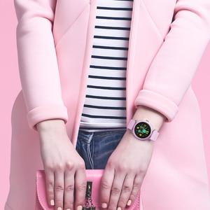 Image 5 - Fashion Women Smart Watch Waterproof Heart Rate Blood Pressure Monitor Smartwatch Gift For Ladies Watch Bracelet Full Touch