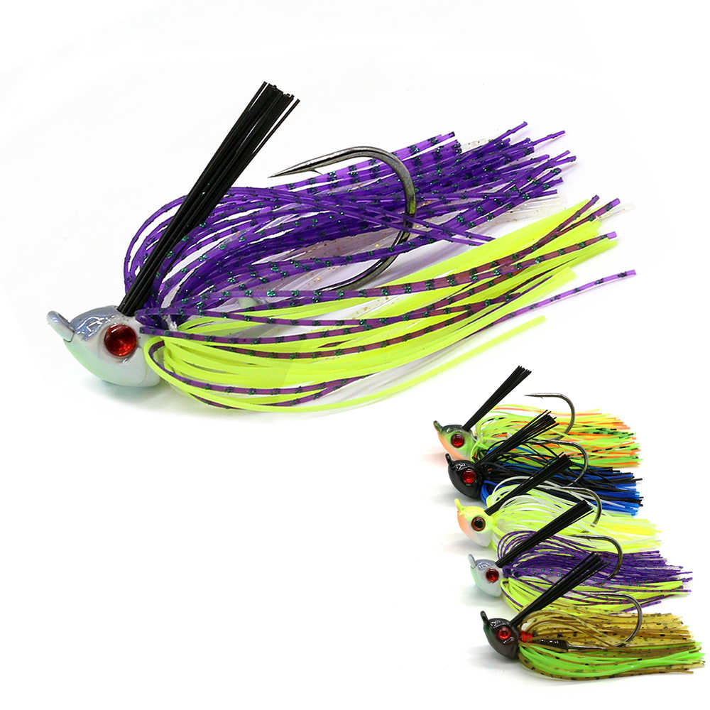 Jonstar 1 Pc 15G Finesse Chatter Aas Spinnerbait Vissen Lokken Buzzbait Wobbler Chatterbait Voor Bass Pike Walleye Vissen