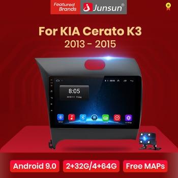 Junsun V1 Android 9,0 2 Din Car DVD GPS Video reproductor de Radio para KIA Cerato K3 forte 2013 de 2014 de 2015 Multimedia estéreo unidad de cabeza