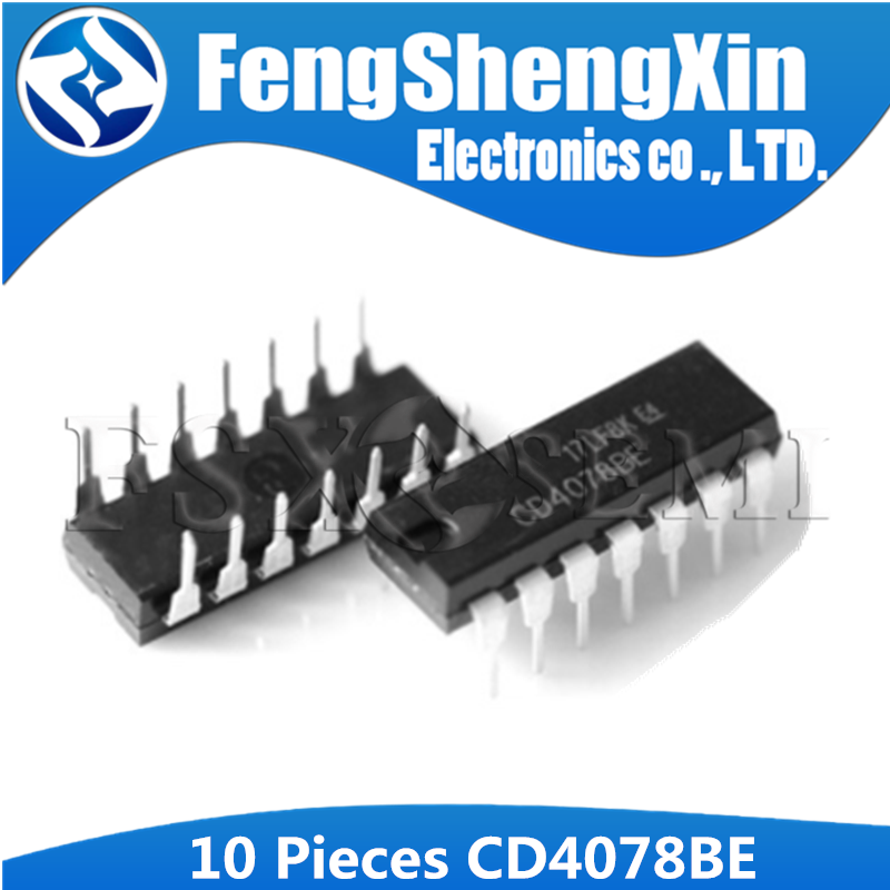 10PCS CD4030BE CD4030 DIP-14 IC original TI
