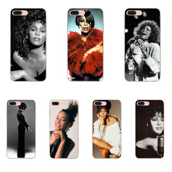 Sexy Singer Whitney Houston Soft TPU Cell Bags For Apple iPhone 4 4S 5 5C 5S SE SE2 6 6S 7 8 11 Plus Pro X XS Max XR image
