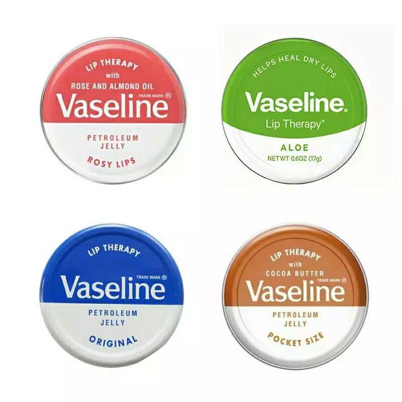 Vaseline 20g Moisturizing Lip Balm Lipstick Natural Plant Anti-Cracking Organic Lip Balm With Pure Petroleum Jelly Lip Balm