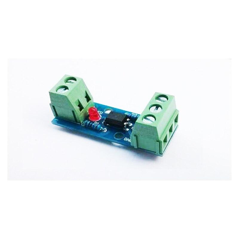 Optocoupler Isolation Module Isolated Board 3.3V 5V 12V 24V 1 Channel PC817 EL817 No Din Rail Holder PLC Processors 80KHz