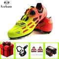 TIEBAO обувь для езды на велосипеде  набор для мужчин и женщин  zapatillas deportivas hombre  дышащая велосипедная обувь  TB16-B1259A
