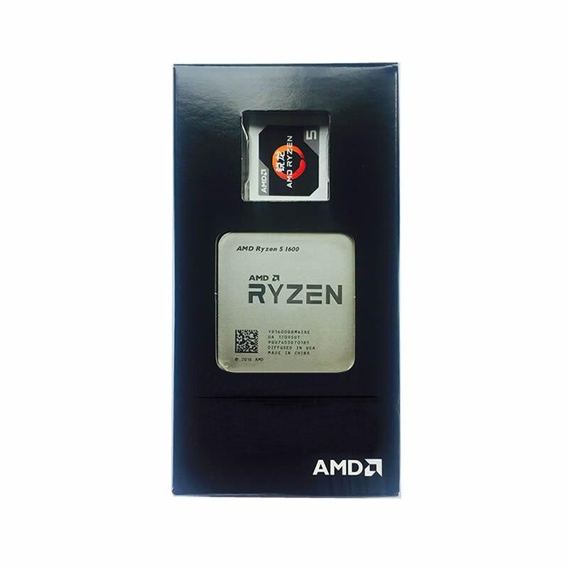AMD Ryzen 5 1600 R5 1600 3.2GHz Six-Core CPU Processor Desktop 65W Socket AM4 NEW