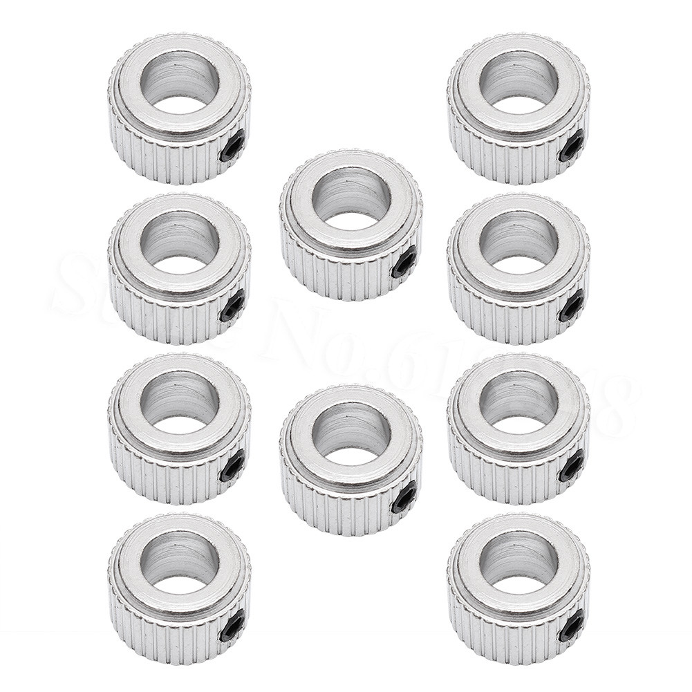 10pcs/Lot Steel Metal RC Wheel Collars D4.1 D5.1 D6.1 D8.1 Accessories For Radio Control Airplane Cars Boats